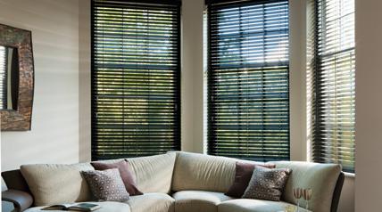 large window blinds