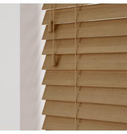 Wooden Venetian Tawny 25mm