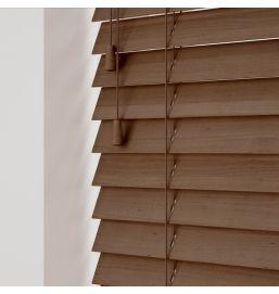 Wooden Venetian Auburn 25mm