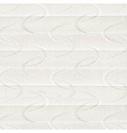 Pleated Aura White