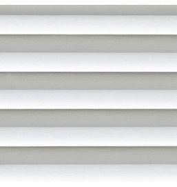 Pleated Basix White